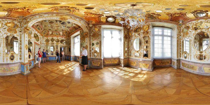Kubische Panoramen - Panorama-Foto: Schloss Ludwigsburg - Spiegelkabinett