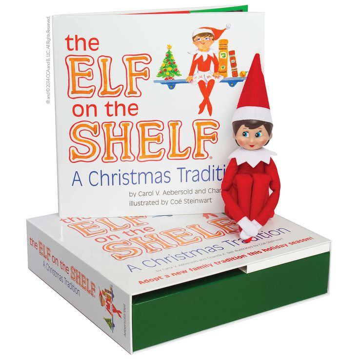 BuyThe Elf on the Shelf with Girl Elf Online at johnlewis.com