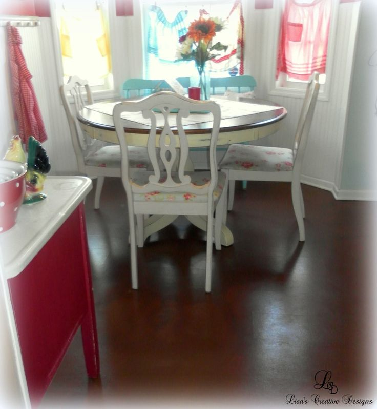 Learn how to spruce up an old laminate floor with paint. Yes it can be done! This tutorial can guide you through the process.