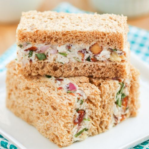 Turkey Tarragon Tea Sandwiches | Thirsty for Tea