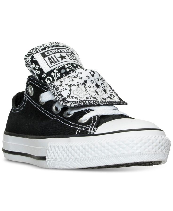 Converse Girls' Chuck Taylor All Star Double Tongue Casual Sneakers from  Finish Line