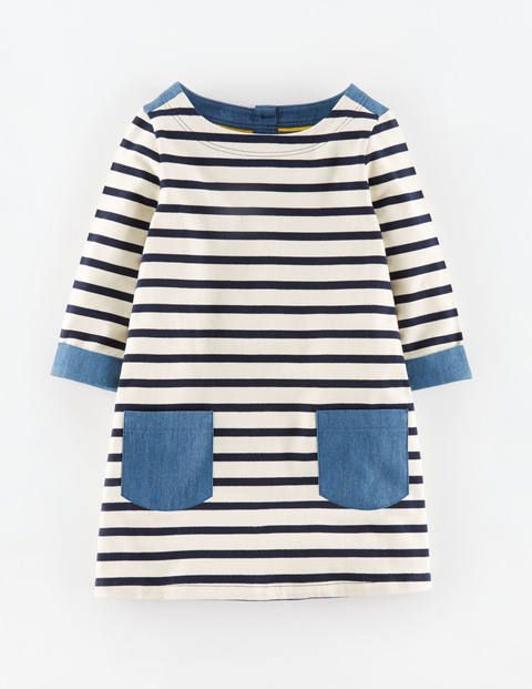 Stripes + chambray - oh yes.