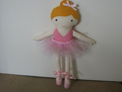 Fabric Ballerina Doll