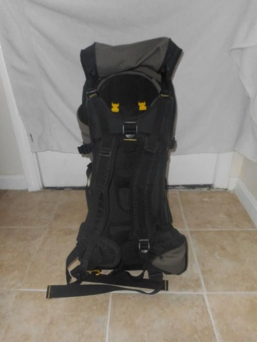 Evenflo Snugli Cross Country Baby Carrier Brown Backpack Model