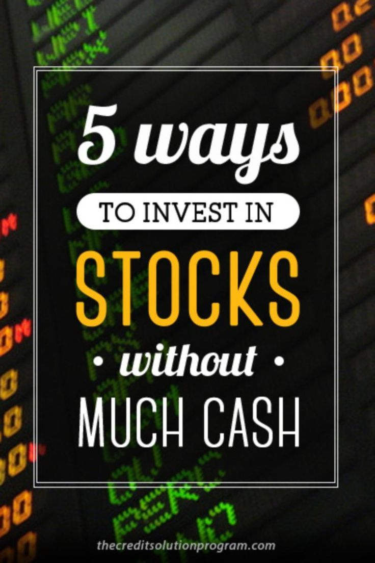 Did you know you can invest in stocks even if you don't have a lot of cash? Here's how.