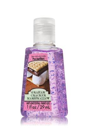 Graham Cracker Marshmallow PocketBac Sanitizing Hand Gel - Anti-Bacterial - Bath & Body Works
