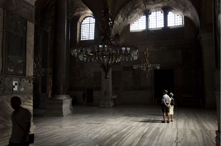 Inside #Hagia #Sofia by #National #Geographic Εσωτερικό της Αγίας Σοφίας από το National Geographic