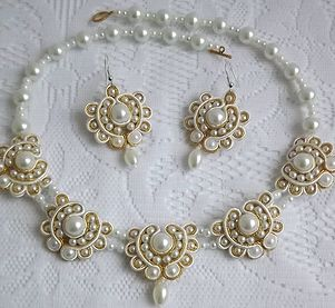 Soutache Jewelry | anette-art soutache | Soutache Wedding Jewellery