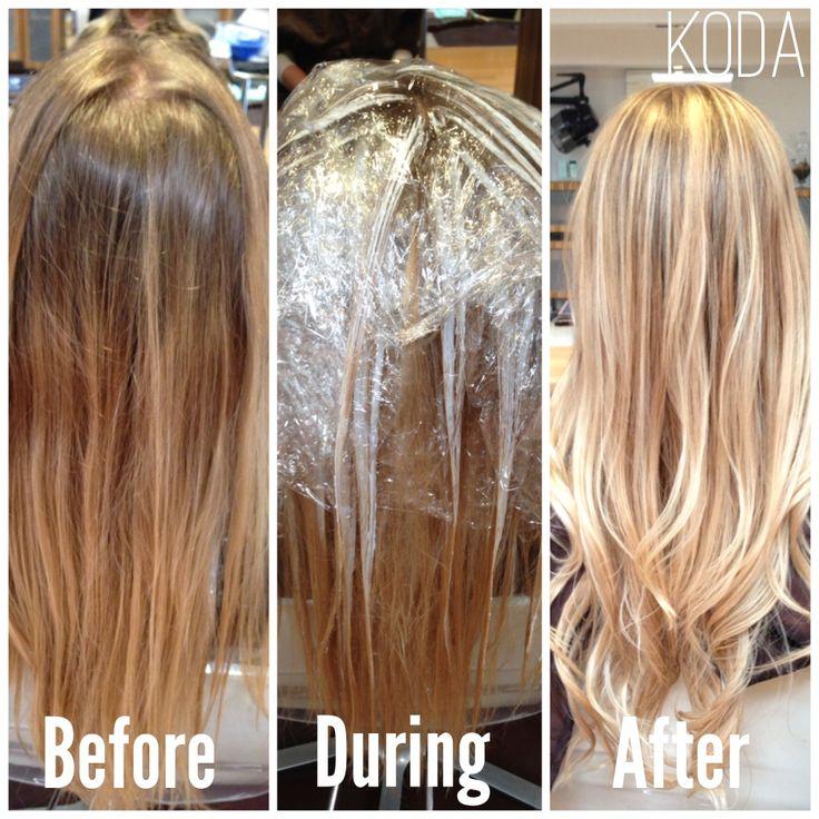 #blonde #balayage babe at www.kodasalon.com.