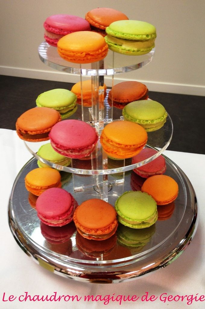 Macarons au Thermomix