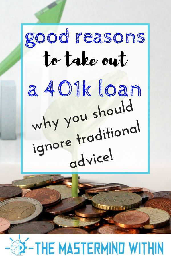 Why I M Considering A 401 K Loan Take Money Investing Money Stock Market Investing In Shares
