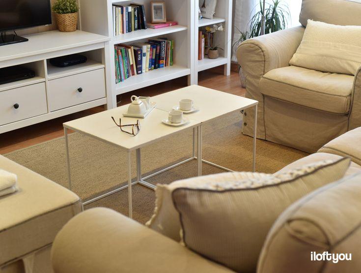 #proyectomollerussa #iloftyou #interiordesign #interiorismo #ikea #ikealover #ikeaaddict #livingroom #maisonsdumonde #ektorp #hemnes #white #wood #osted