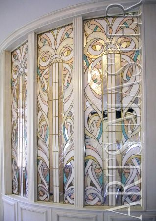 "Stained glass partition ""Modern"""