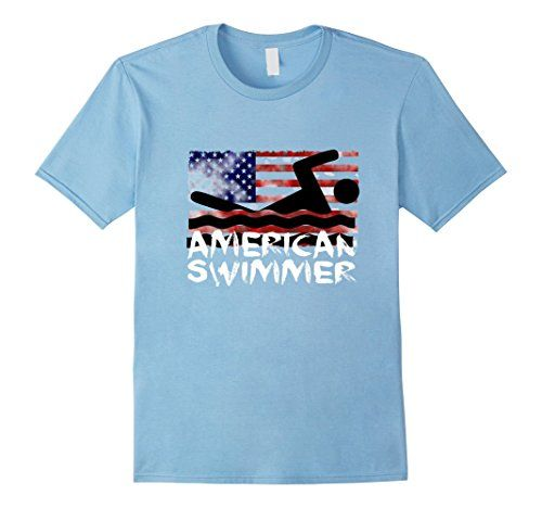Men's #Swim Shirt #AmericanSwimmer Design #Swimming #Flag #olympics https://www.amazon.com/dp/B01K36RACG/ref=cm_sw_r_pi_dp_x_BkOQxbEV3MC3P