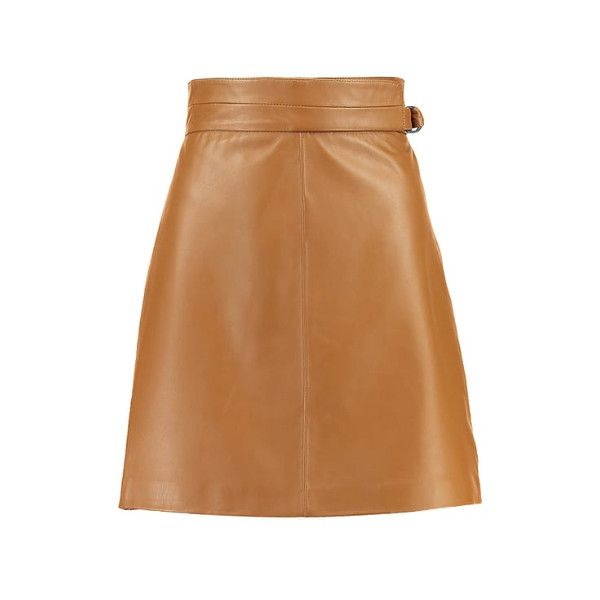 Best 25  Brown leather skirt ideas only on Pinterest | Velvet ...