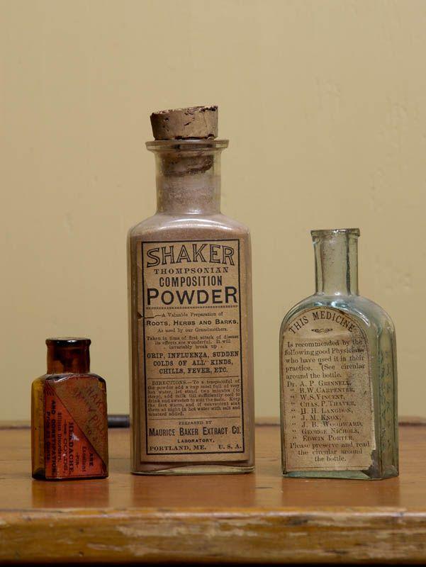 old shaker medicine bottles
