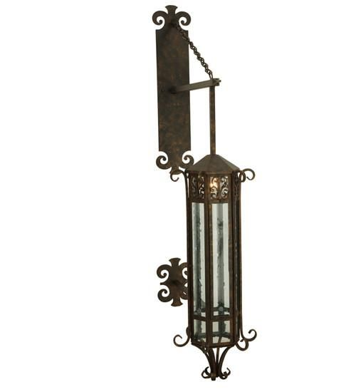"""14""""W Caprice Outdoor Wall Sconce"""