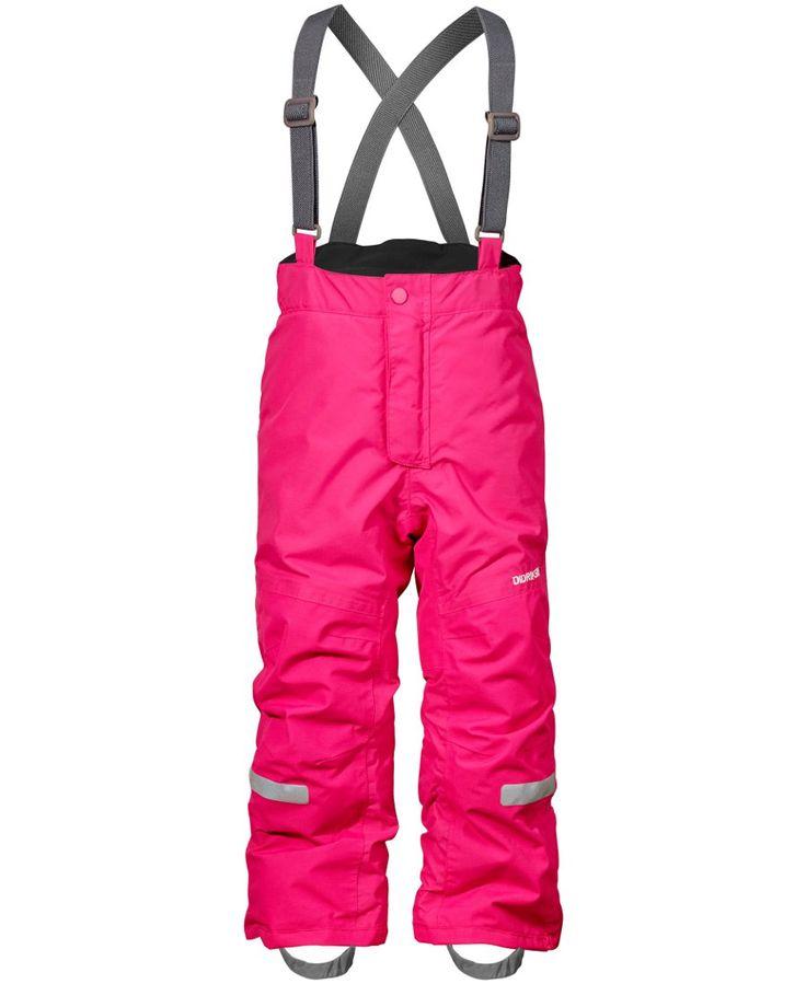 Didriksons Idre Kids Ski Pants - Fuchsia