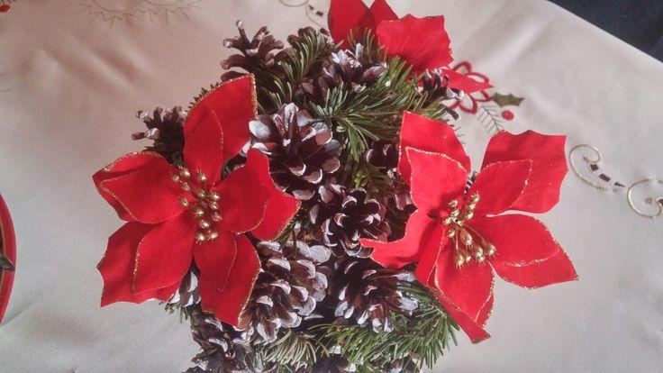 Christmas Decoration - pine cone ball