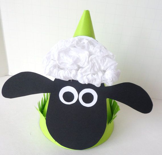 Shaun The Sheep Party Supplies by PAPALOTES on Etsy, $8.99