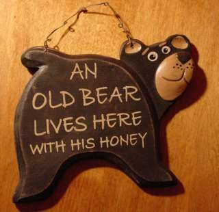 cabin furniture - Got to have this cute and sign in our home.  Very, very cute!
