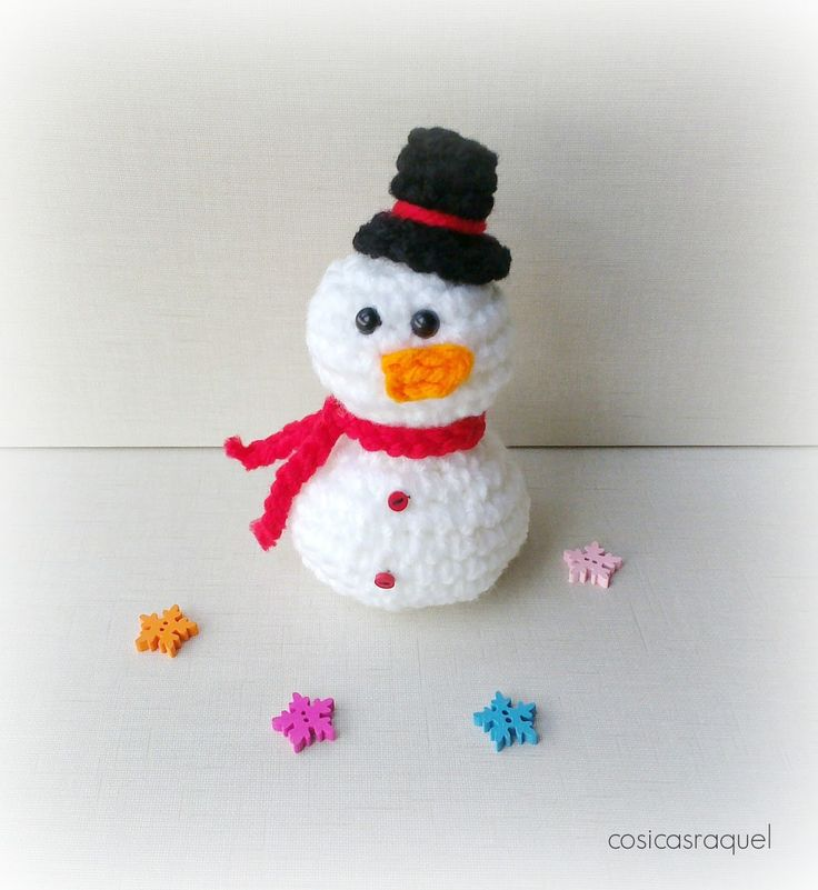 Mejores 90 imágenes de Amigurumi Navidad en Pinterest | Navidad ...