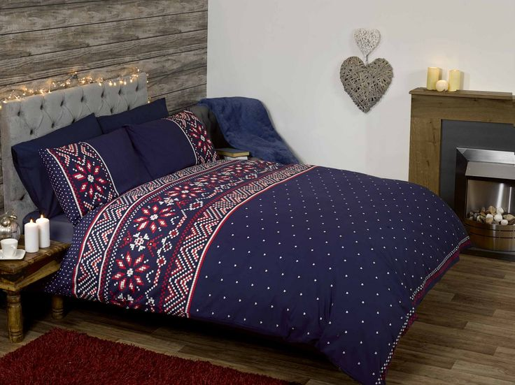 festive duvet sets and throws