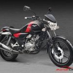 Bajaj Auto showcases new 'V' 150cc motorcycle, made from metal of INS Vikrant