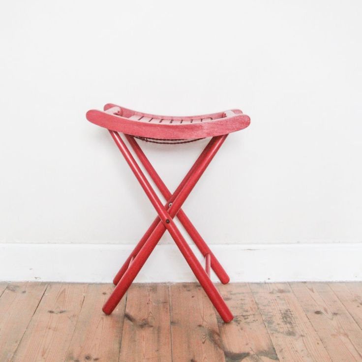 25 best ideas about tabouret pliant on pinterest chaise pliante bois chai - Tabouret bois vintage ...