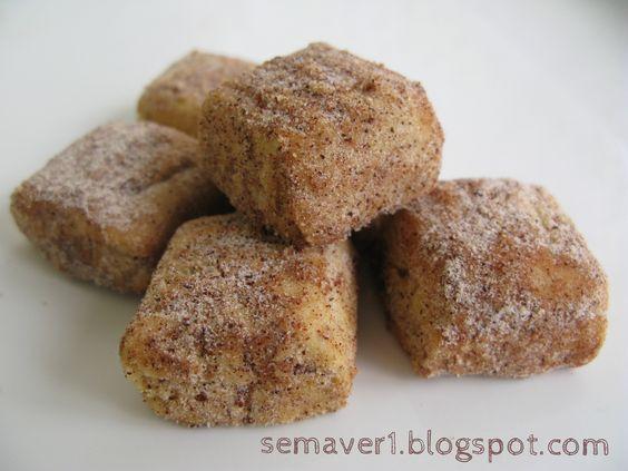 Tarçınlı bademli kurabiye