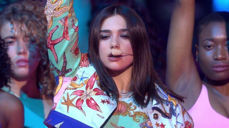 Dua Lipa - New Rules (Live at The BRIT Awards 2018) - YouTube