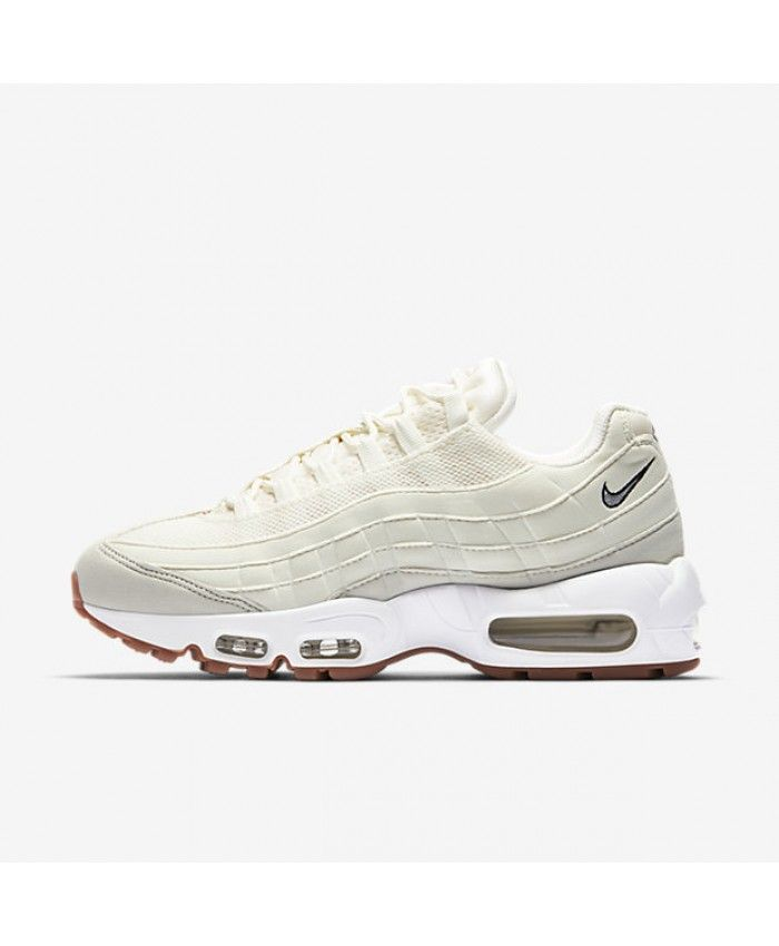 low priced 64798 f9444 Nike Air Max 95 Womens Og Sail Light Bone Gum Medium Brown Shoes Outlet