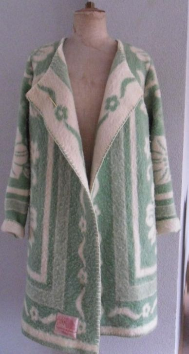 Vintage blanket deken