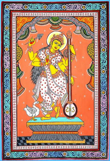 Patachitra paintings from exotic India
