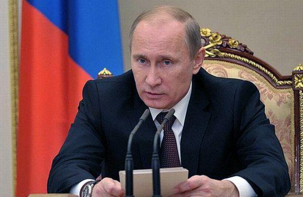 Дрыся: Путин Крым