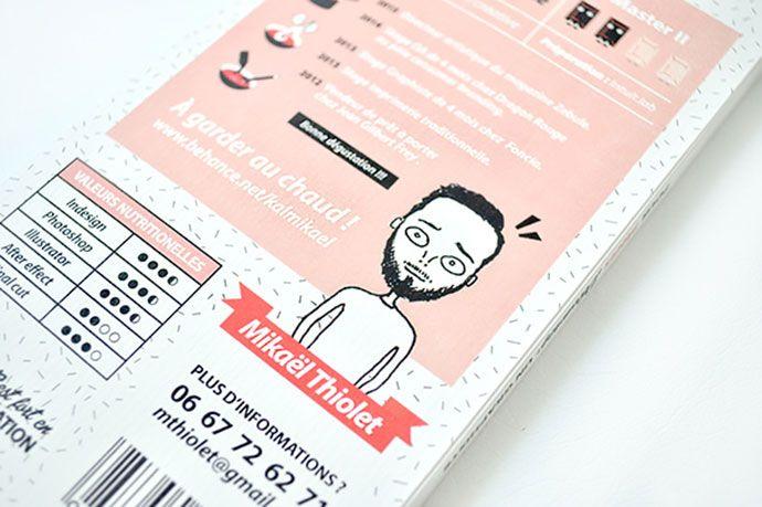 26 Examples Of Unbeatable Resume Designs Bashooka Mini Books Graphic Design Cv Resume Design