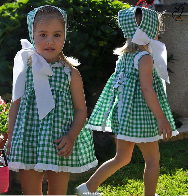 Gansetes-moda-infantil-vichy-verde-primavera-verano-2013.jpg (710×742)