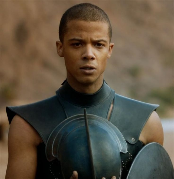 game of thrones grey worm fanart