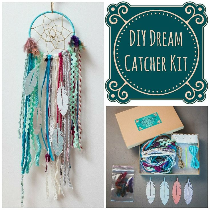 164 best dream catcher diy kit images on pinterest dream catcher the house phoenix blue diy dream catcher craft kit the perfect do it yourself birthday gift for the crafty bohemian hang in your baby boys nursery room make solutioingenieria Image collections