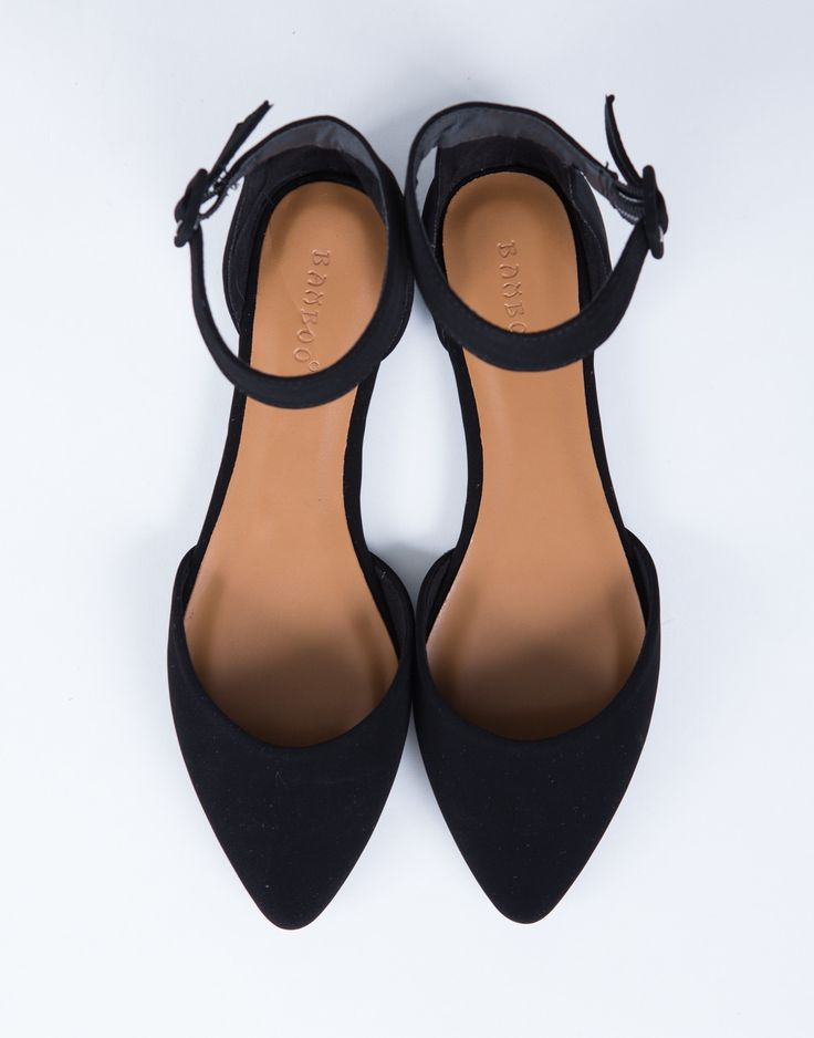 More coming soon! Black - Approx. Date: 05/15/17 Take on this new form of ballerina flats. These Ankle Strapped Flats come in a natural or black color of your choice. Made from a soft faux leather mat