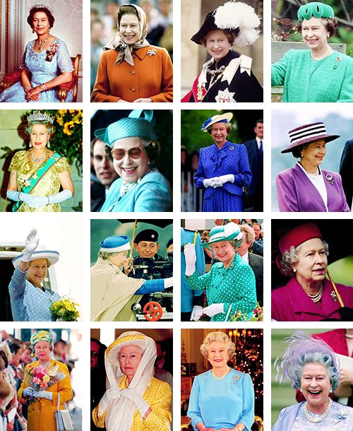 ravishingtheroyals: Queen Elizabeth-a photo for each year of her reign: Years 1984-1999: