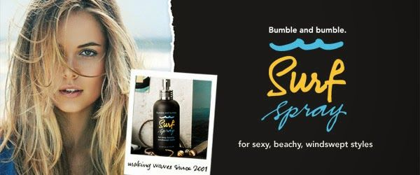 SURF SPRAY DI BUMBLE  #beauty www.missbeckyb.it