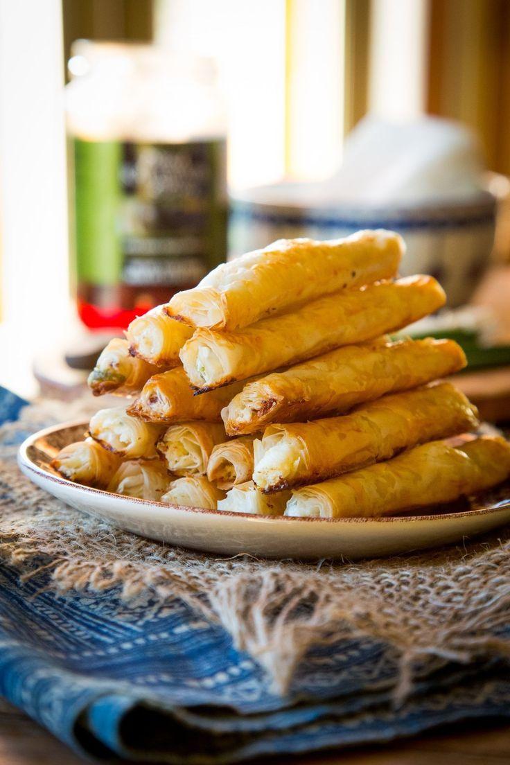 Recipe: Feta & Olive Phyllo Cigars
