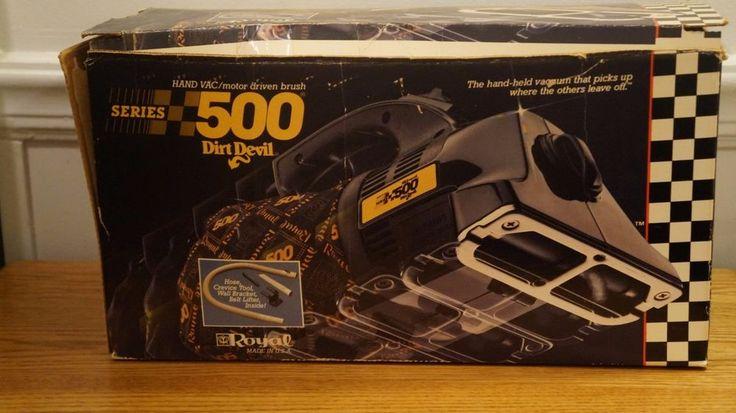 Royal Dirt Devil Handheld Portable Vacuum Cleaner Model 500 Works #DirtDevil