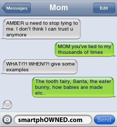 stop lying. oh rly - - Autocorrect Fails and Funny Text Messages - SmartphOWNED