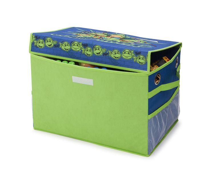 BAÚL JUGUETERO DE LAS TORTUGAS NINJA, DE TELA. TB84979NT, IndalChess.com Tienda de juguetes online y juegos de jardin