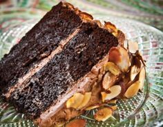 BACARDI CHOCOLATE RUM CAKE: This recipe was from a Bacardi bottle in the 1970's…Fabulous! FYI, the alcohol does not cook out of this cake; Serve to adults only-