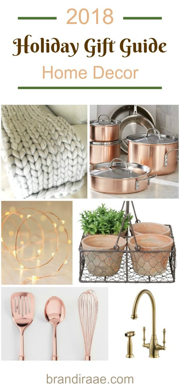 2018 Holiday Gift Guide Home Decor Gift Ideas Pinterest