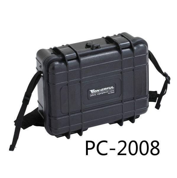 0.48 kg 227*182*84mm Abs De Plástico Sellado A Prueba de agua Equipo de Seguridad Caja de Herramientas Portátil Caja Seca Equipo al aire libre