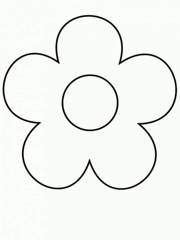 Pin De Mayra Class En Flores De Papel Paginas Para Colorear De